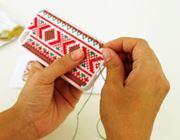 自分でクロスステッチして作るiPhoneケースがかわいい!
