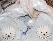 【柔軟剤不要】ハリネズミが洗濯物をふわふわにします♪
