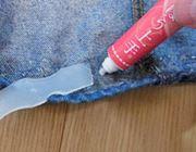 針・糸いらずですそ直しやかばん製作ができちゃう布用接着剤