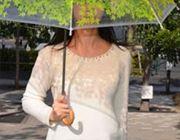 センスに脱帽。木の下でひなたぼっこしてる気分になる傘