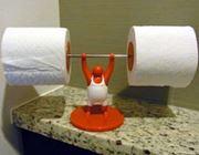 トイレ内で最強の男は間違いなくコイツ! その名はMr T!!