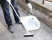 ゴミ袋がそのままチリトリに変身する便利なアイテム