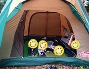 【みんな大好きコールマン】テントに何人入れるか試した結果