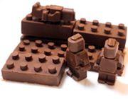 積み上げたいほどかわいい!チョコや氷で作るLEGOブロック