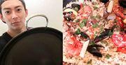 鉄製パエリア鍋 + 家庭用コンロで作る簡単おもてなし料理