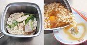四角い袋麺がピッタリ入る! ラーメン専用鍋がめちゃ便利
