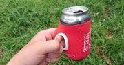 缶ビールをジョッキ持ちできる! アウトドアのお助けアイテム