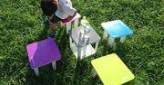 一席五鳥。分解するとテーブルとチェアになる不思議なキューブ