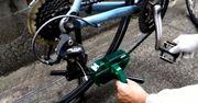 自転車用お掃除キットでドロドロチェーンがピカピカに!