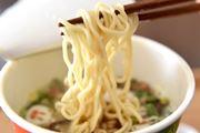 """がまだせ熊本! """"何杯食べてもいい""""復興支援カップ麺は、熊本独特のとんこつスープをリアルに再現"""