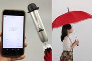 傘が天気を教えてくれる!? Bluetoothアンブレラ「JONAS」で雨の日が楽しみになる