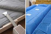 流行のマットレス仕様にも昔ながらのマット仕様にもなるシャープの布団乾燥機が便利