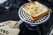 トースターいらず! ガス火でカリフワ食パンが焼けるんです