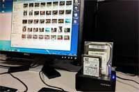 パソコンいらずでHDDをコピー可能。データ管理はこれにおまかせ!