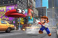 新作3Dアクション「スーパーマリオ オデッセイ」が15年ぶりの箱庭ステージで登場