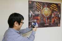 スマホを使ったARシューティングゲーム専用銃「ARマジックガン」が面白い!