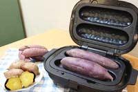 話題の「焼き芋メーカー」で焼いた芋は、トースターで焼いた芋より甘いのか