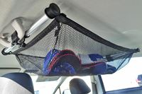 デリケートなものの運搬に最適! 車の天井に付ける秀逸ネット