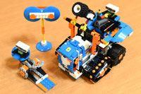 レゴブロックが動く! 「レゴブースト」で凶悪(?)メカを作ってみた