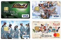 限定アイテムのプレゼントも! 人気ゲームとのコラボクレジットカード10選