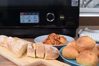 """""""こね""""不要! 最新「石窯ドーム」なら、パン作り未経験でも1時間で本格フランスパンが焼ける!"""