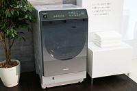 お手入れがラク! 乾燥フィルターの自動お掃除機能を搭載したシャープのドラム式洗濯乾燥機