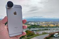手軽に360°写真を撮影できるスマホ用レンズが楽しい!
