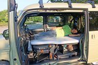 軽バンなのに走り心地も寝心地もイイ! ホンダ「N-VAN」の車中泊レポート