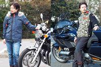 """試着してチェック! バイクに乗っていない時にも使える""""見た目もいい""""秋冬ライディングウェア"""