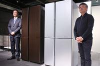 アクア、500Lクラスで最薄! 奥行き635mmの冷凍冷蔵庫「TZシリーズ」を発表