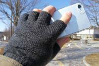 「USB指までヒーター手袋2」で冬のスマホ操作を快適に!