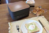 サクサクなのにやわらか! 新食感トースター「三菱ブレッドオーブン」最速レビュー