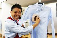 実演販売士のレジェンド松下さんも太鼓判! 使用時間が2倍になったパナソニックの衣類スチーマー