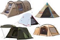 初めてのテント選びに役立つ! アウトドアのプロが種類から選び方までやさしく教えます