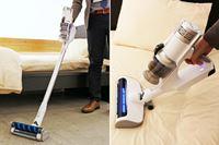 レイコップ初のコードレススティック掃除機はブラシを切り替えて掃除する新スタイル!