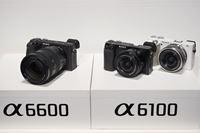 ソニーのAPS-Cミラーレスの新モデル「α6600」「α6100」が国内でも発表