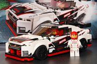 日産「GT-R NISMO」が日本車初のレゴになった!きっかけは300km/h超のドリフト