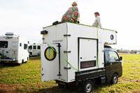 自作キャンピングカー!? 軽トラに載せて移動できる小さな家「モバイルハウス」は絶対楽しい!!