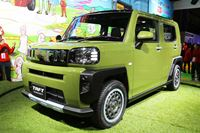 ダイハツの新型 軽SUV「タフト」2020年半ばに発売!「コペンGR SPORT」のド派手カスタムも