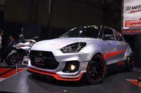 2輪の名車「カタナ」をオマージュした「スイフトスポーツ」は市販化してほしいほどの完成度の高さ!