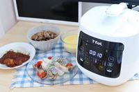 ティファール「ラクラ・クッカー コンパクト」は、ムダのないスタンダードな電気圧力鍋