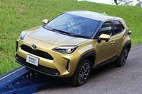 人気のトヨタ「ヤリスクロス」ハイブリッドとNA車に比較試乗!