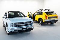 なぜベース車はRAV4!? アメ車がモチーフの光岡 新型SUV「バディ」発表