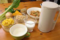 レコルトの「ソイ&スープブレンダー」で豆乳&スープ三昧!