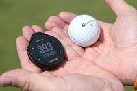ゴルフボール大のGPSナビ、ガーミン「アプローチ G12」をコースで使ってみた