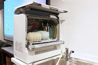 タンク式も登場!本体奥行約29cmで、蛇口にも当たりにくいパナソニックの卓上型「スリム食洗機」
