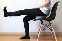 イスに乗せて座る「バランスボード」で、テレワークの運動不足と腰痛解消なるか!?