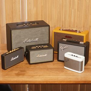 Fender/Marshallのギターアンプ型Bluetoothスピーカーでアナログレコードを簡単オシャレに楽しんでみた