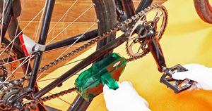 800円で買える洗浄器で自転車のチェーン洗浄が驚くほど簡単にできた!