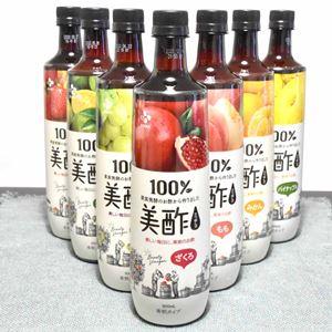 人気の飲むお酢「美酢(ミチョ)」全7味×割り材7種すべて飲み比べてみました!